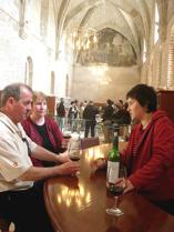 tasting at winery