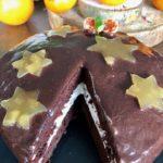 tarta de chocolate y naranja amarga