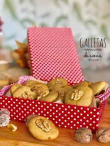 galletas de avena y nueces