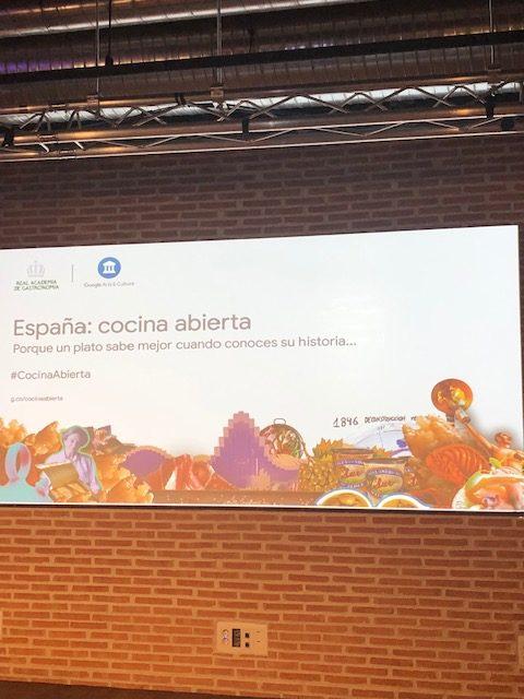 ferran adria en la presentación de España cocina abierta