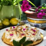 tarta rápida de limón y merengue