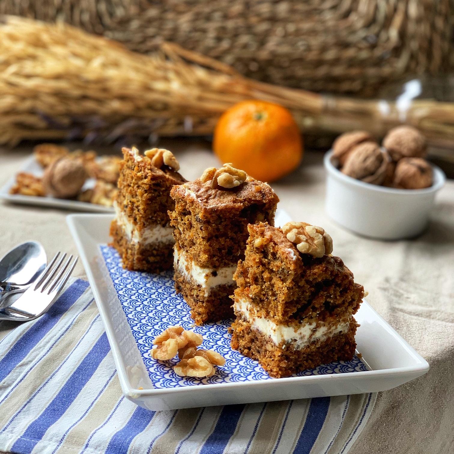 Bizcocho Integral De Nueces Zanahoria Y Mandarina Culinary Spainculinary Spain