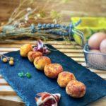 Croquetas caseras súper cremosas de jamón ibérico y huevo