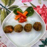Croquetas veganas de lentejas y verduras al curry